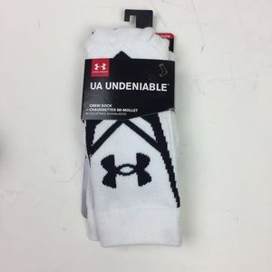 Under Armour Youth Boys Large 1-4 Crew Socks